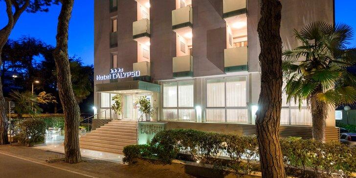 3* hotel Calypso v Rimini: pobyt s raňajkami