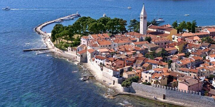 Dovolenka v Chorvátsku: 4* hotel v Novigrade iba 80 m od pláže, bohaté bufetové raňajky