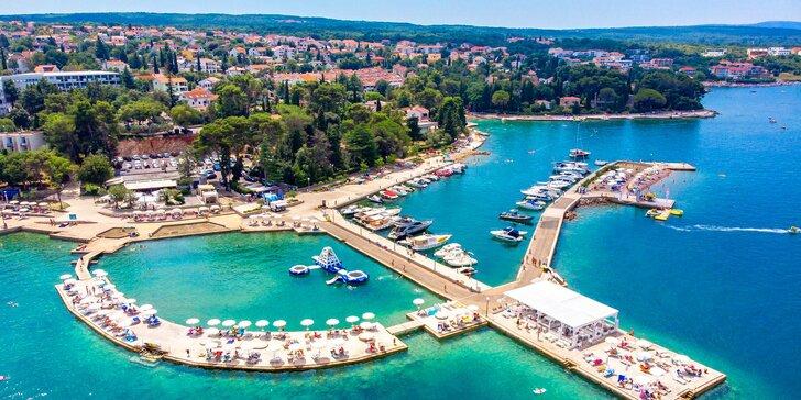 4* hotel Malin na ostrove Krk s polpenziou plus