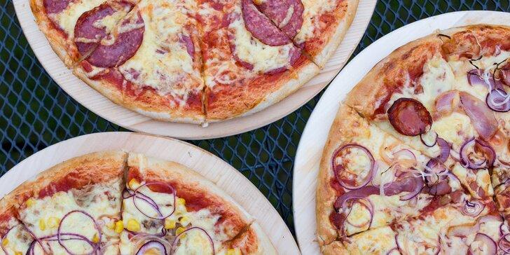 Pizza podľa vlastného výberu z LARA PIZZA + nápoj ZADARMO (donáška)