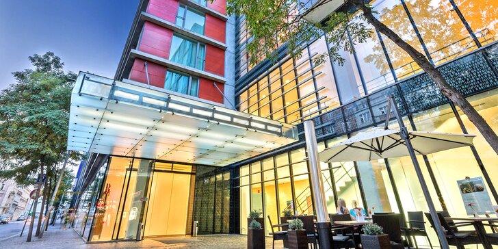 4* pobyt v dizajnovom hoteli v Prahe: raňajky, zábava pre deti, možnosť romantickej večere či wellness