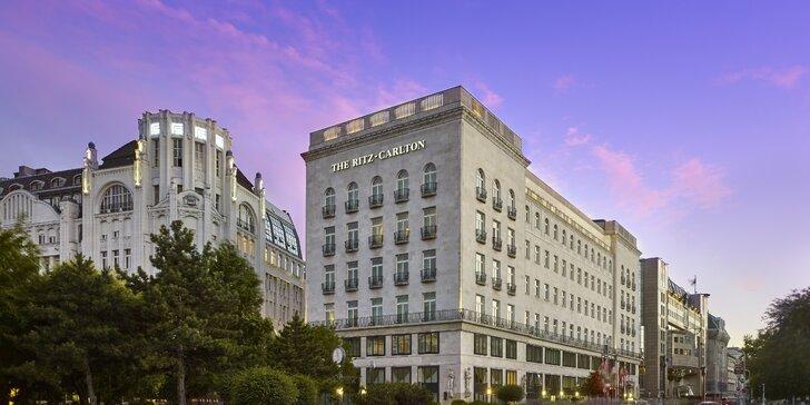 Luxusný pobyt v Budapešti: 5* hotel The Ritz-Carlton v centre mesta s raňajkami alebo polpenziou