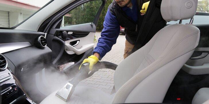 NANO ochrana laku a EKO čistenie exteriéru, interiéru, tepovanie parou či dezinfekcia ozónom
