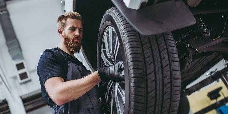 Kompletné jarné prezutie vozidla: výmena zimných kolies alebo pneumatík