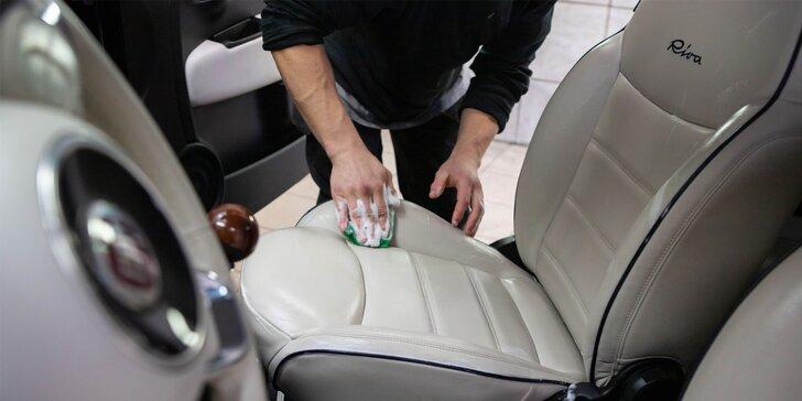 Umývanie exteriéru a interiéru auta, tepovanie aj ručné voskovanie laku