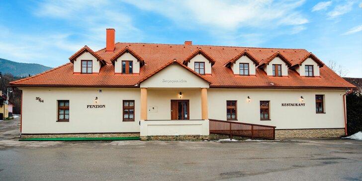 Pobyt na Orave v historickom štýle v penzióne Zemianska Kúria s možnosťou Aquaparku