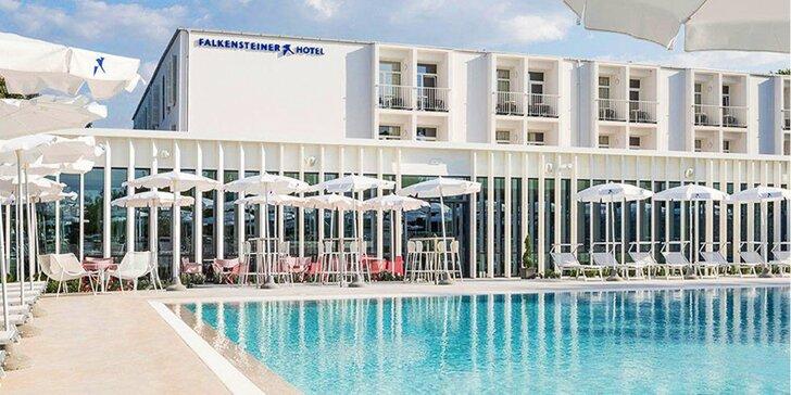 4* all inclusive pobyt na ostrove Krk: hotel pri mori, bazény, animácie a vstup do akvária