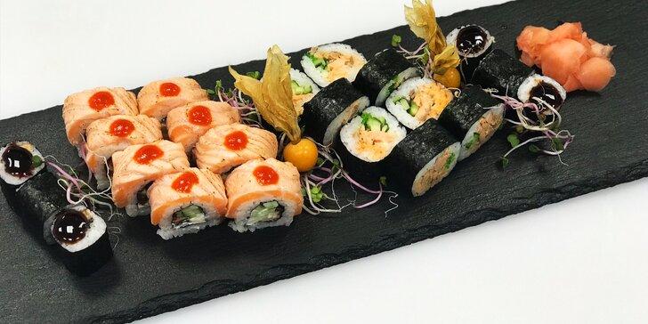 SUSHI BONSAI: Skvelý špeciál sushi set + Tom Yum polievka pre 2 osoby