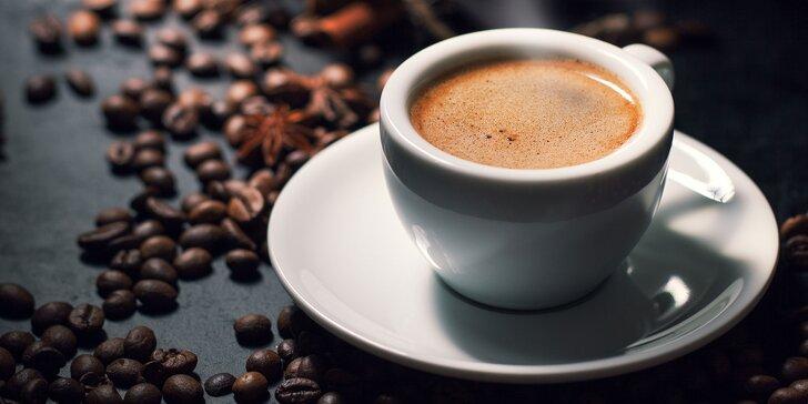 Lahodné espresso s mliečkom v Café Kupé: 1 + 1 grátis!