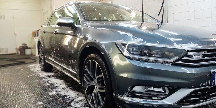 Detailné umytie interiéru a/alebo exteriéru auta v PRECISE GARAGE ŽILINA