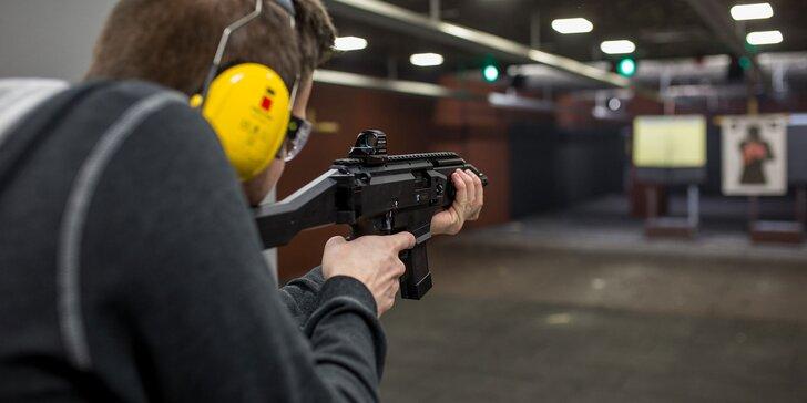 Zážitková streľba zo zbraní v Steam Factory