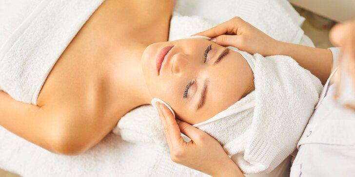 Kompletné hĺbkové čistenie pleti, regenerácia s masážou či skin scrubber