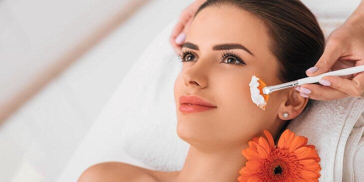 Chemický peeling AHA alebo ultrazvukové čistenie Skin Scrubberom