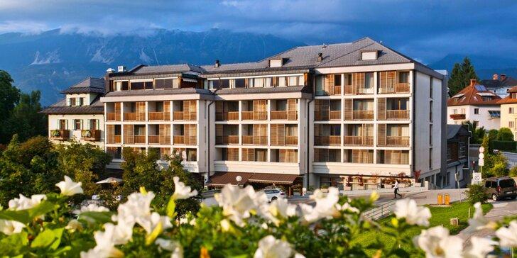 Dovolenka pri slovinskom jazere Bled: 4* hotel, bohaté raňajky a neobmedzený vstup do wellness