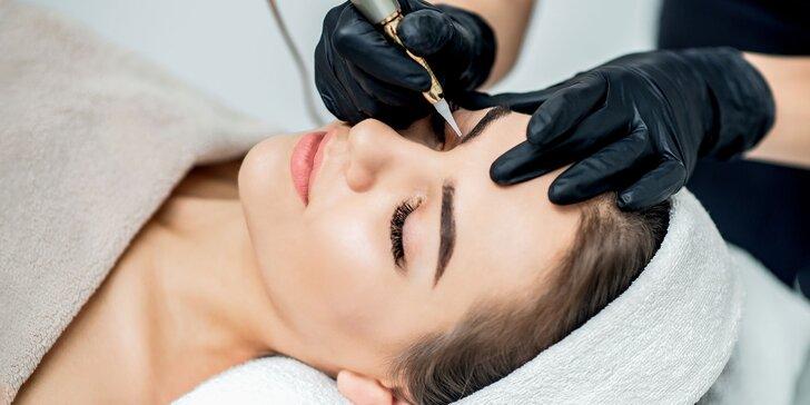 Perfektný permanentný make-up obočia, pier či očných liniek