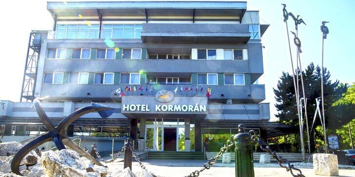 Rodinná dovolenka v Hoteli Kormorán**** s hotelovou plážou
