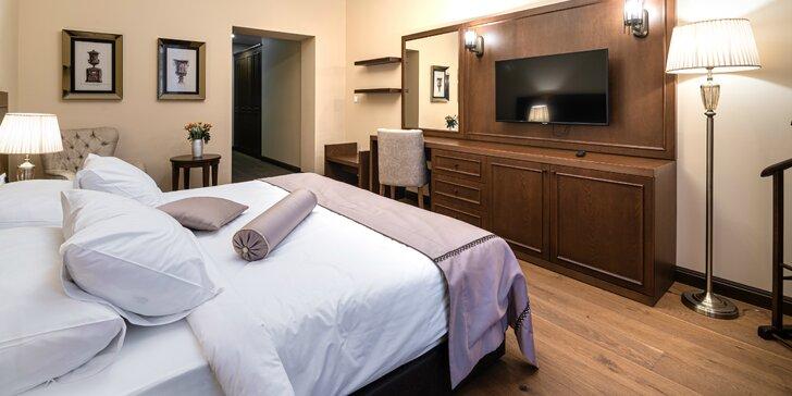 Jedinečný pobyt v novootvorenom luxusnom hoteli Michael´s Palace*** v historickom centre Košíc