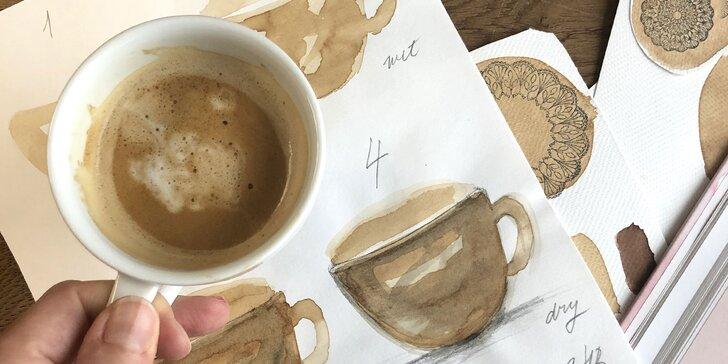 ONLINE KURZ maľovania kávou pre začiatočníkov i mierne pokročilých