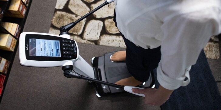 Prístrojové vyšetrenie zloženia tela+možnosť ochutnávky alebo zostavenia nutričného plánu