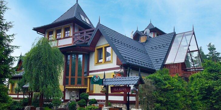 Pobyt s raňajkami a privátnym wellness vo Vysokých Tatrách