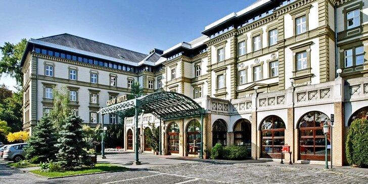 Luxusný hotel na ostrove v centre Budapešti: polpenzia a neobmedzený vstup do wellness