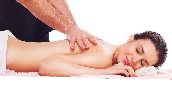 Luxusné masáže – klasická, reflexná, celotelová či bankovanie