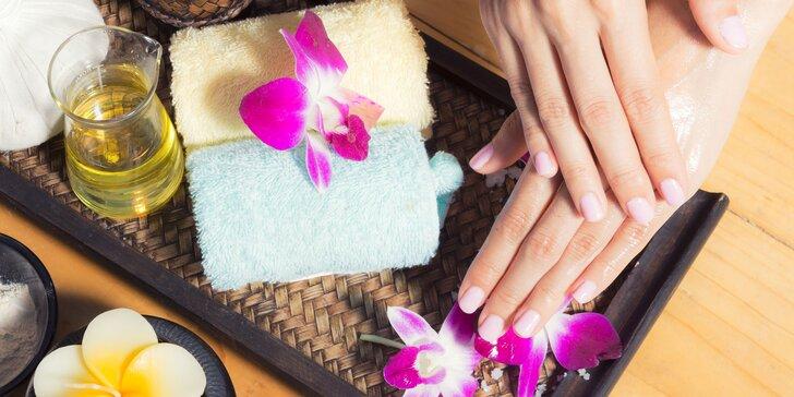 Japonská manikúra, gél lak alebo pedikúra s reflexnou masážou chodidiel