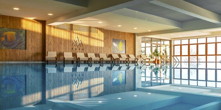 Exkluzívny pobyt v Grand Hoteli Bellevue****: novovybudované wellness s bazénom a nové izby