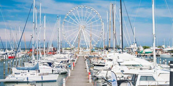 Letná dovolenka v talianskom Rimini: 4* hotel priamo pri mori, bohaté bufetové raňajky