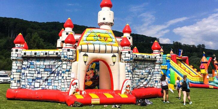Celodenný prenájom zábavných atrakcií na detské a rodinné oslavy