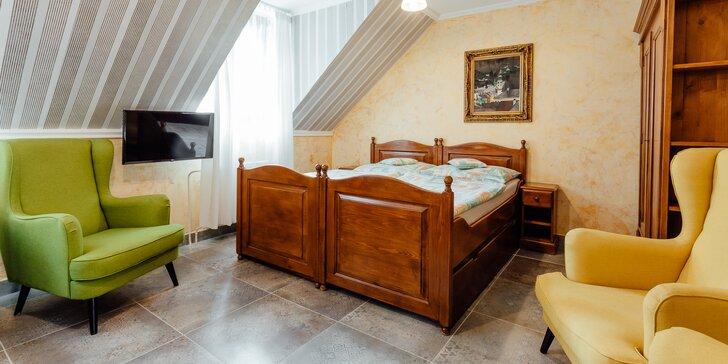 Exkluzívne ubytovanie v historickom centre Banskej Štiavnice