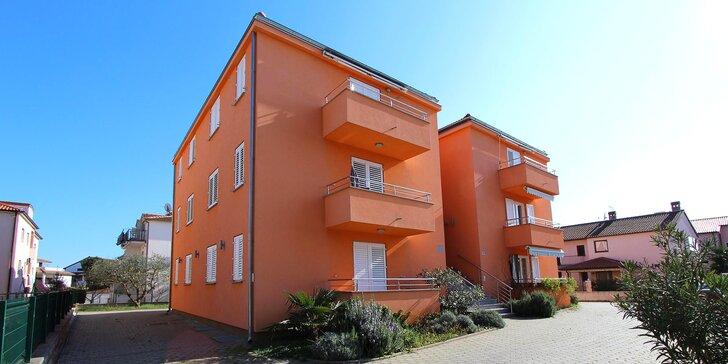 Dovolenka v chorvátskej Istrii - komfortné apartmány pre 4 osoby