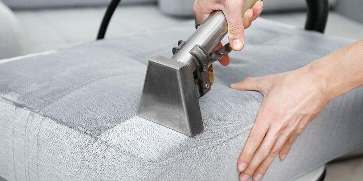 Kvalitné čistenie a hĺbkové tepovanie čalúnených sedačiek