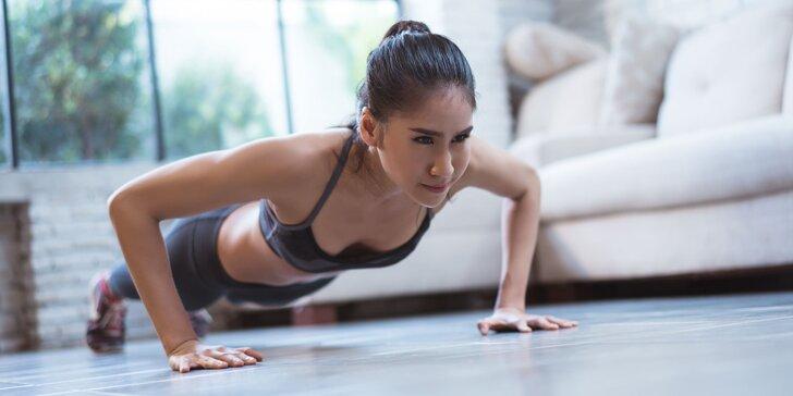 Zapojte sa do 6-týždňovej online fitnes výzvy InstaGYM a získajte vysnívané krivky: pravidelné tréningy + jedálniček