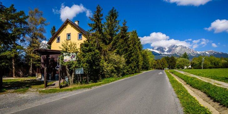 Dovolenka vo Vysokých Tatrách pre celú rodinu + zľava do Aquacity Poprad