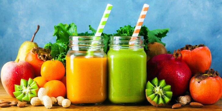 Detoxikujte a chudnite s čerstvými nápojmi z ovocia a zeleniny plnými vitamínov