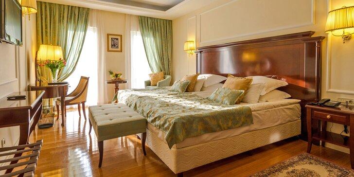 Luxusný hotel v slnečnej Dalmácii s polpenziou a neobmedzeným vstupom do wellness