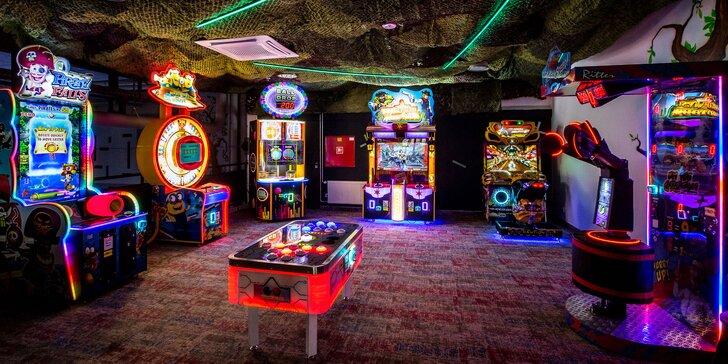 Kredity na zábavu v centre FUN GAME – skvelé atrakcie a hry pre celú rodinu!
