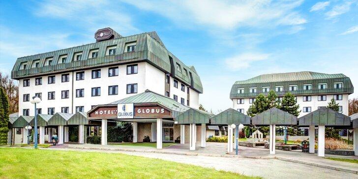 3* hotel v pokojnej časti Prahy: bohaté bufetové raňajky a záhrada s posedením a detským ihriskom