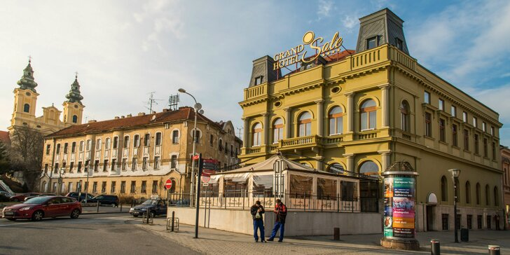 Výnimočný pobyt v Grand Hoteli Sole**** v centre Nitry