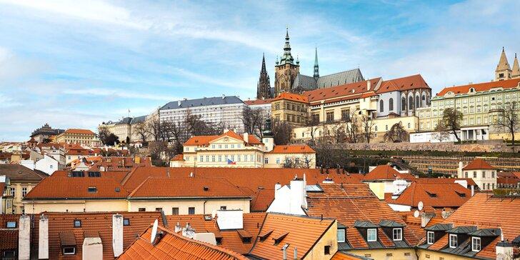 Luxusný pobyt v Prahe: hotel v kláštore na Malej Strane, raňajky a vstup do wellness