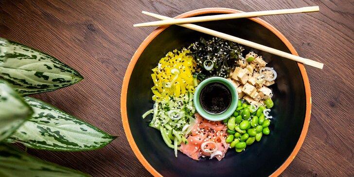 Vegánsky wrap či nugetky aj s hranolčekmi alebo šťavnatá sushi miska