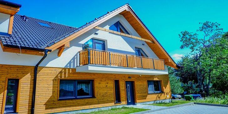 Novopostavená Vila DEDO*** v Tatranskej Lomnici