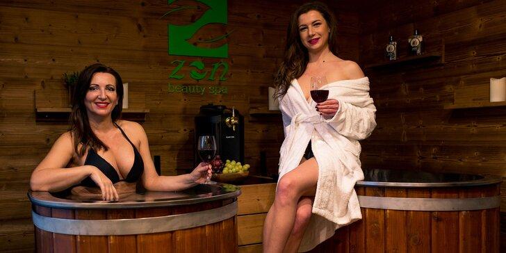 Relax v pivných alebo vínnych kúpeľoch + masáž či rašelinový zábal