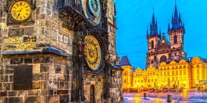 Rozprávková Praha: 4* hotel, strava a varianty so vstupom do wellness