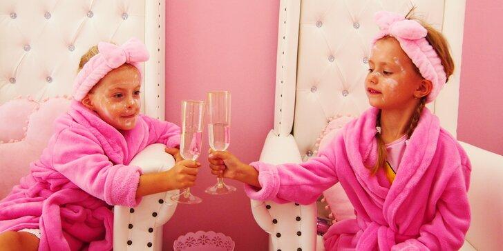 Narodeninová oslava so skrášľovacím programom pre malé slečny v PINK SPA