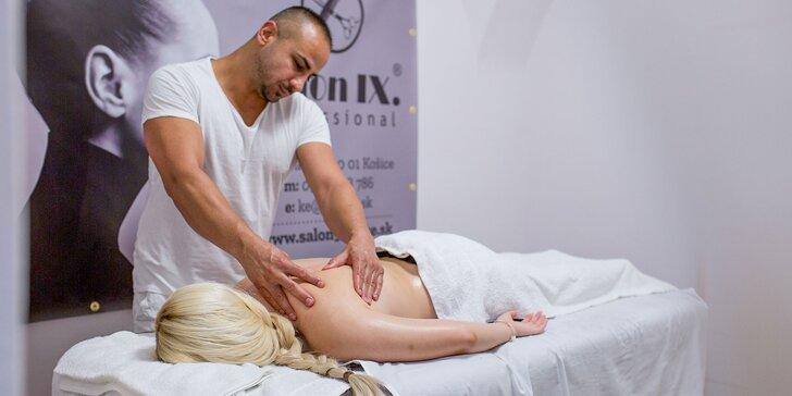 Klasická alebo medová masáž v B&M Beauty
