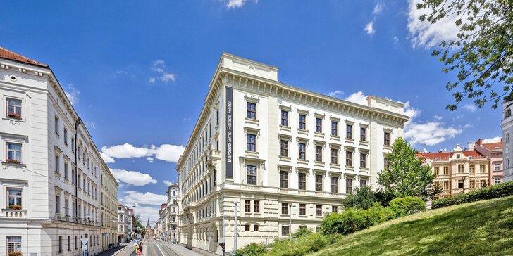 Pobyt v 5* hoteli v centre Brna: raňajky alebo polpenzia, vstup do sauny i orientálna masáž