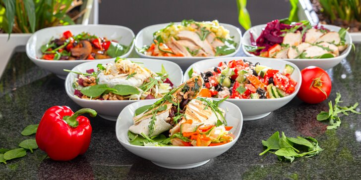 Zdravé a chutné šaláty z Will Sallas – mäsové, vegetariánske i vegánske