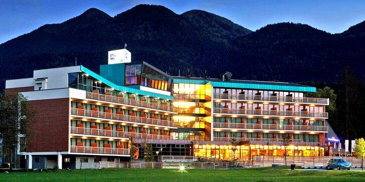 4* hotel s aquaparkom v srdci Julských Álp pre dvoch